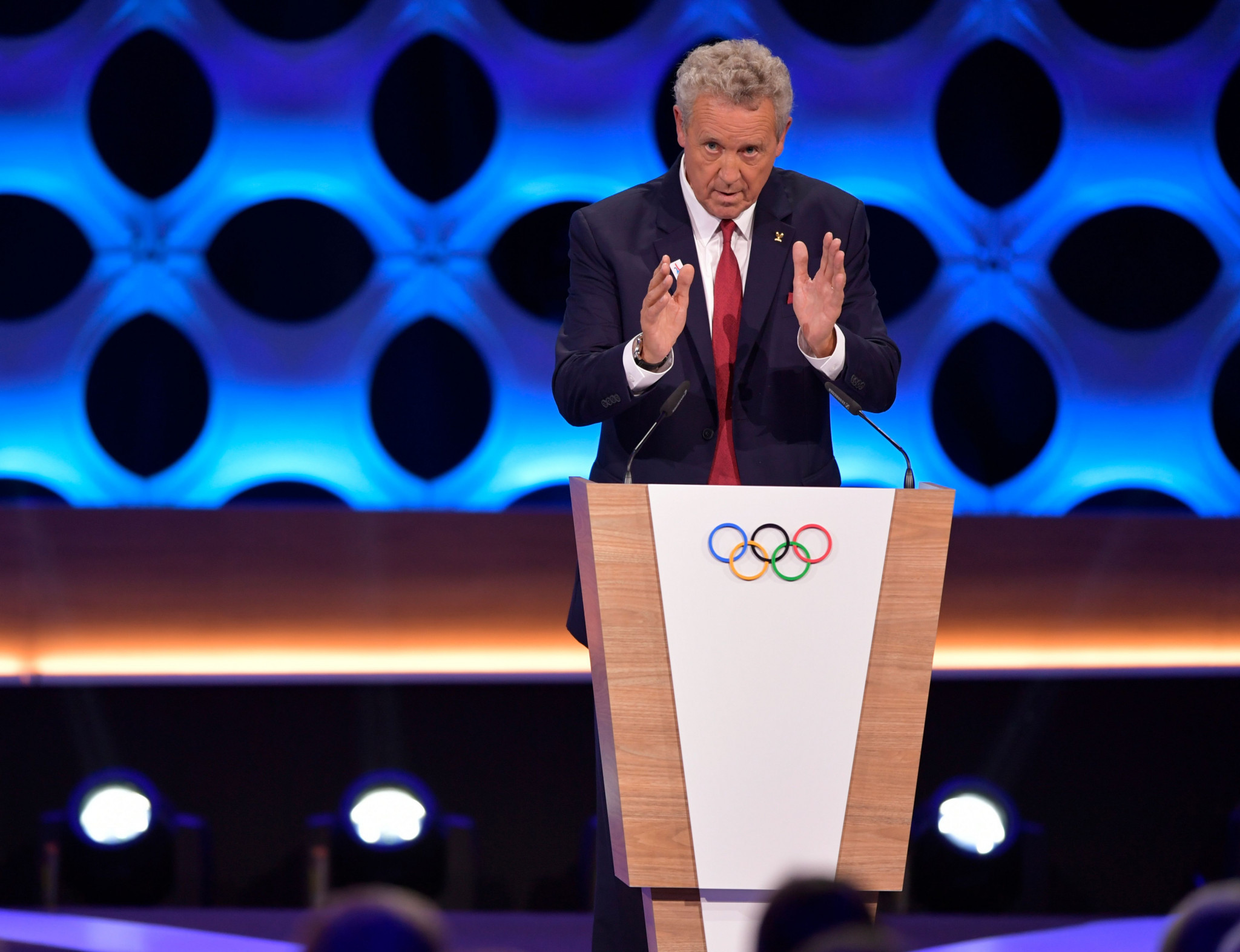 "International Olympic Committee member Guy Drut has said the coronavirus pandemic is an opportunity to ""reinvent"" the Olympic Games ©Getty Images"