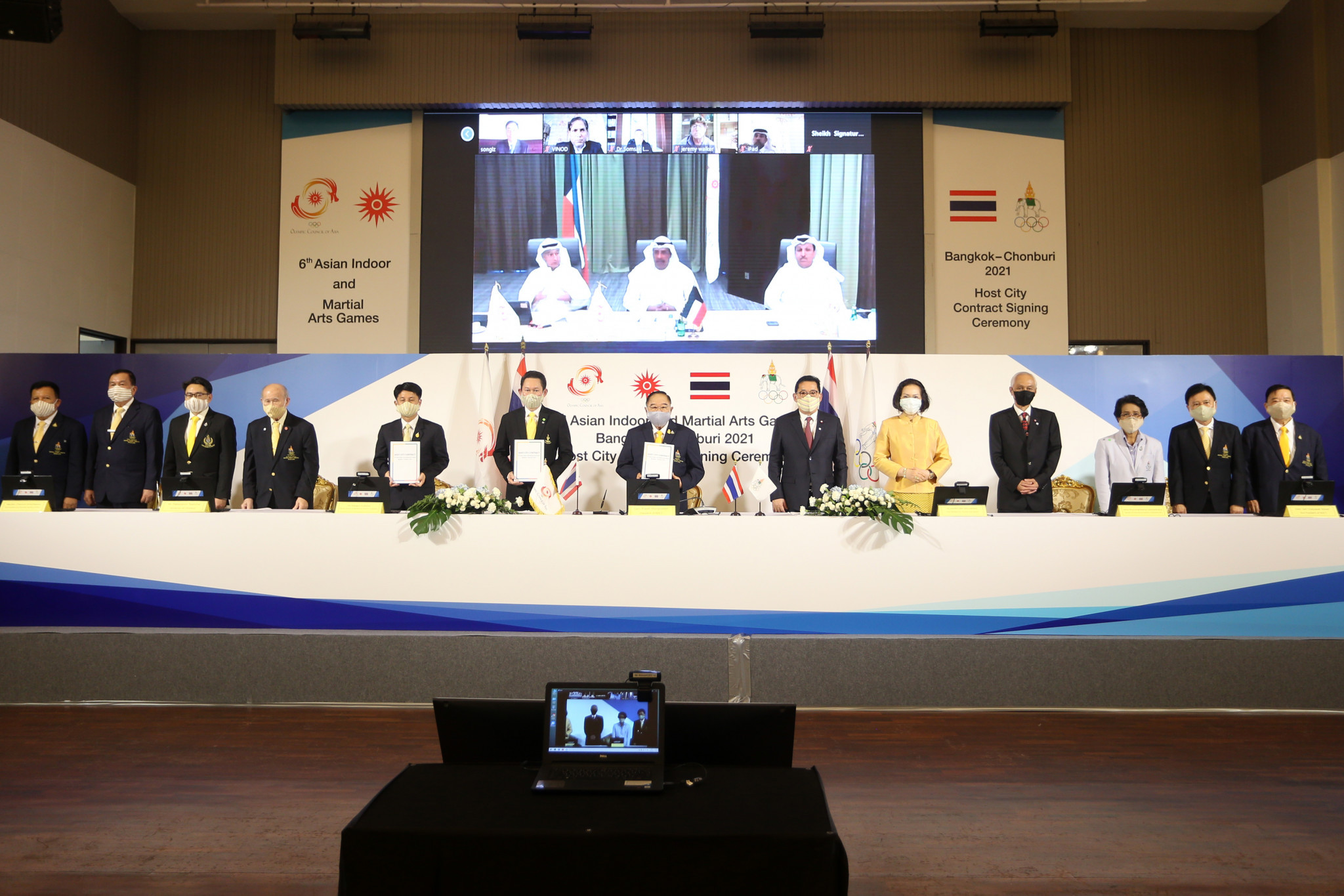 OCA sign host city contract for Asian Indoor and Martial Arts Games in 2021