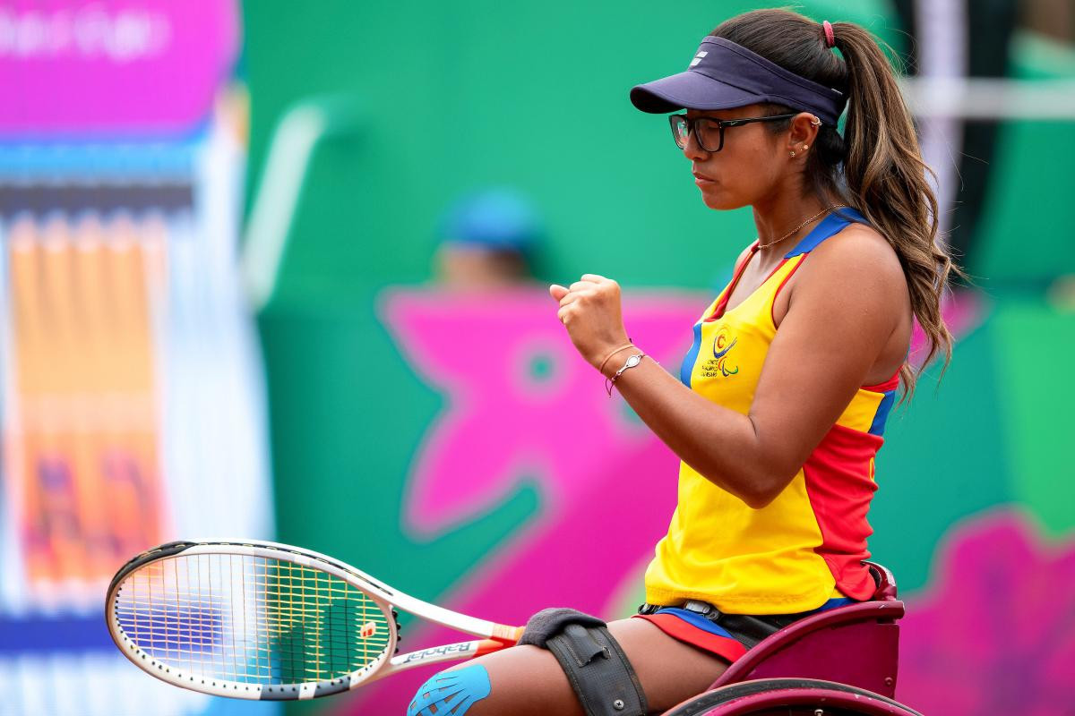 Wheelchair tennis star Bernal sees growth of sport in Colombia