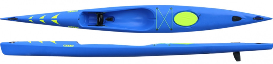 Nelo's new boat is made up of mostly recycled materials ©ICF