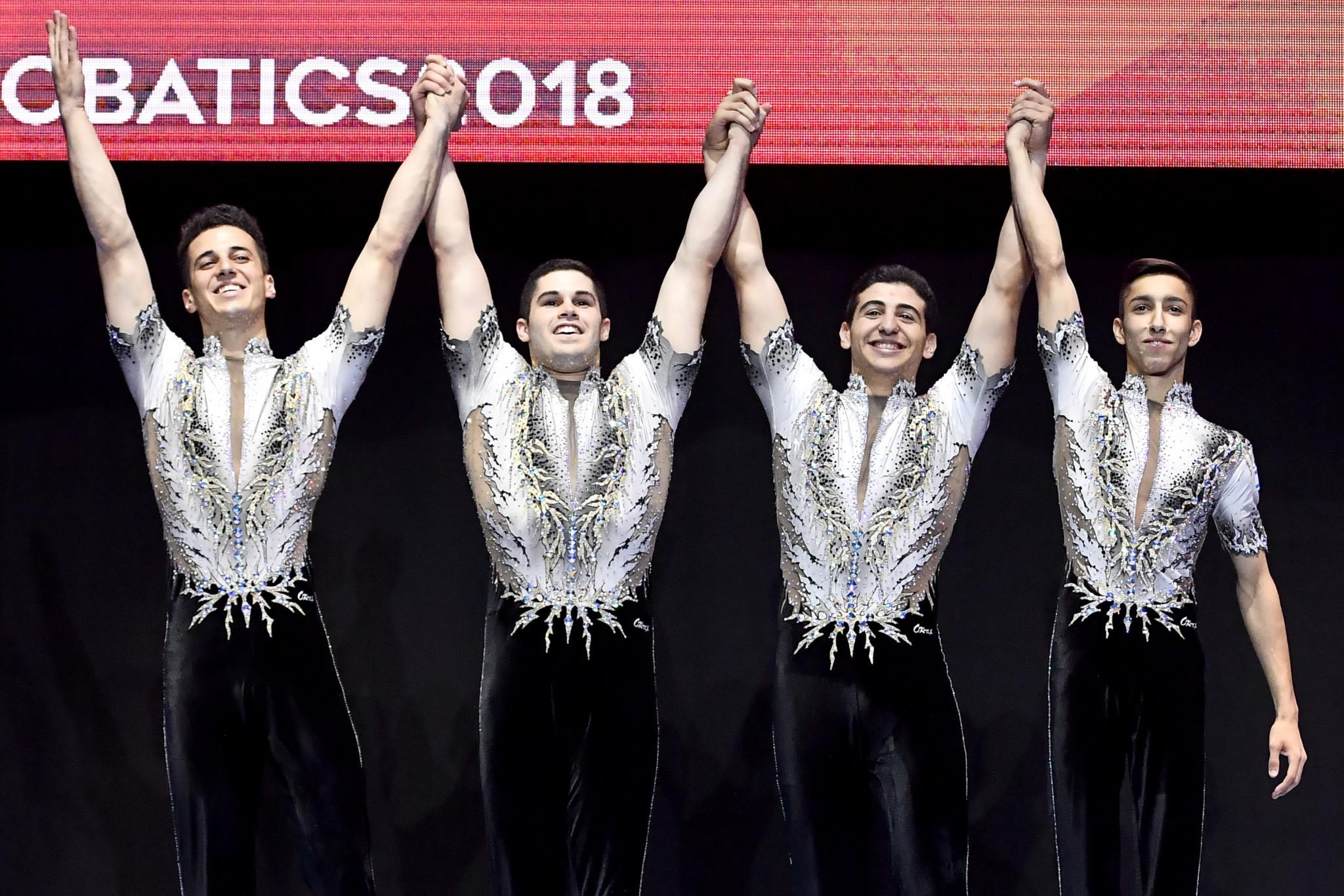 FIG awards 2024 Acrobatic Gymnastics World Championships to Israel