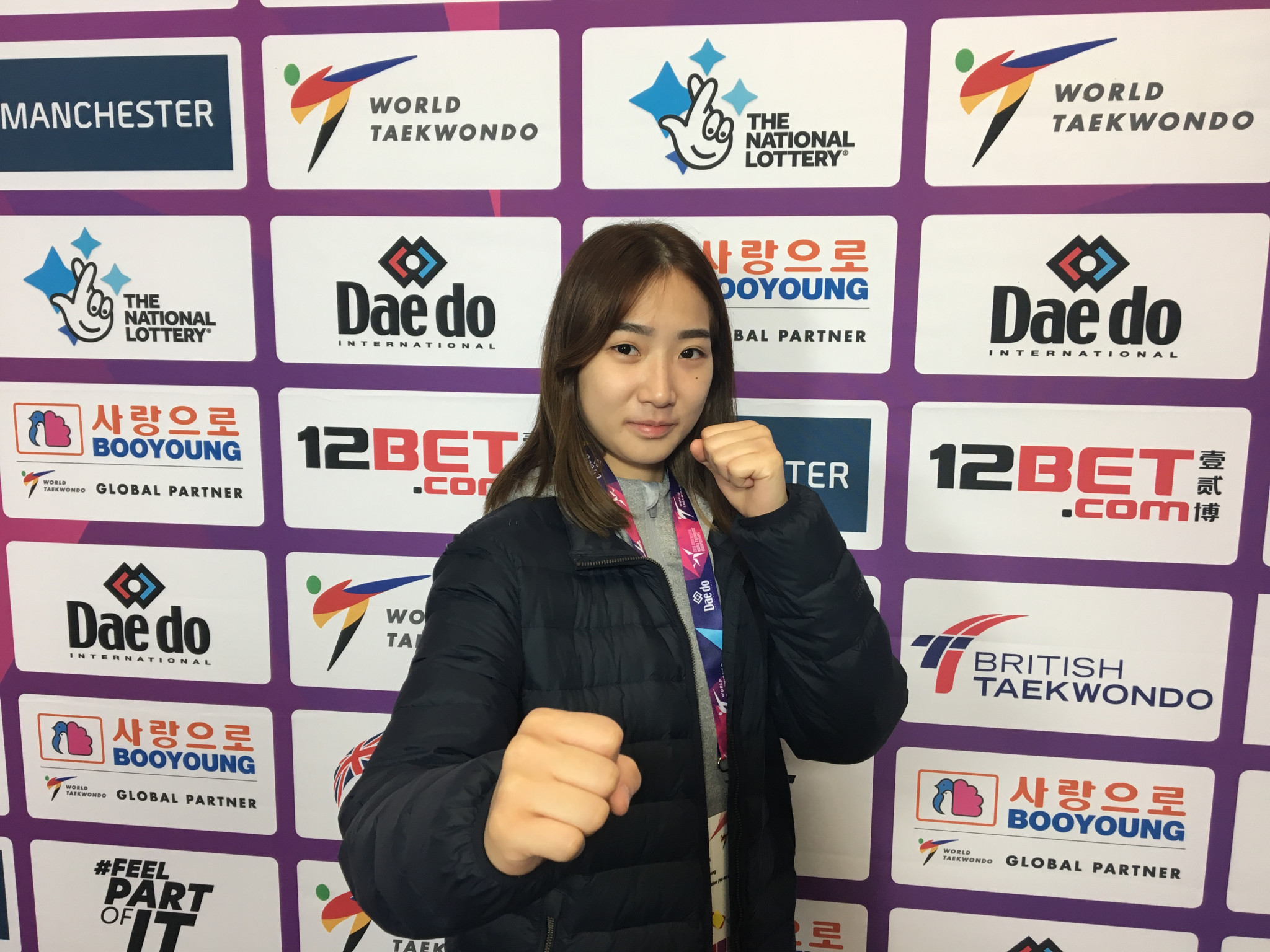 Sim Jae-Young is a double world champion ©World Taekwondo