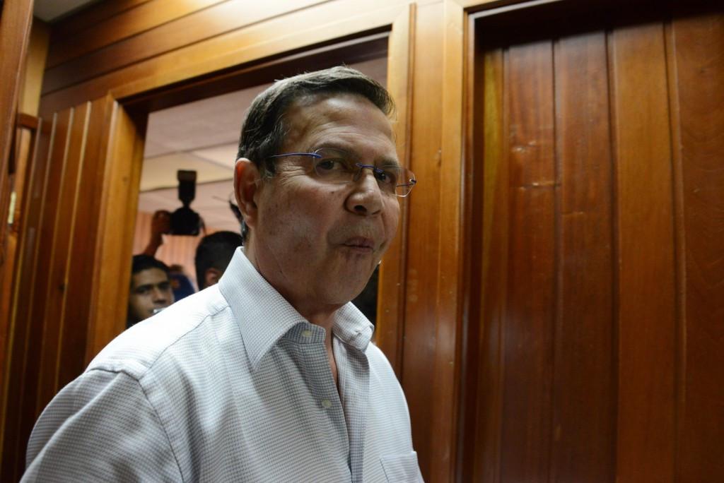 Rafael Callejas, the former President of Honduras, has also pleaded not guilty
