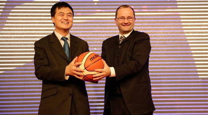 Beijing Enterprises Group has been announced as a four-year partner of FIBA ©FIBA