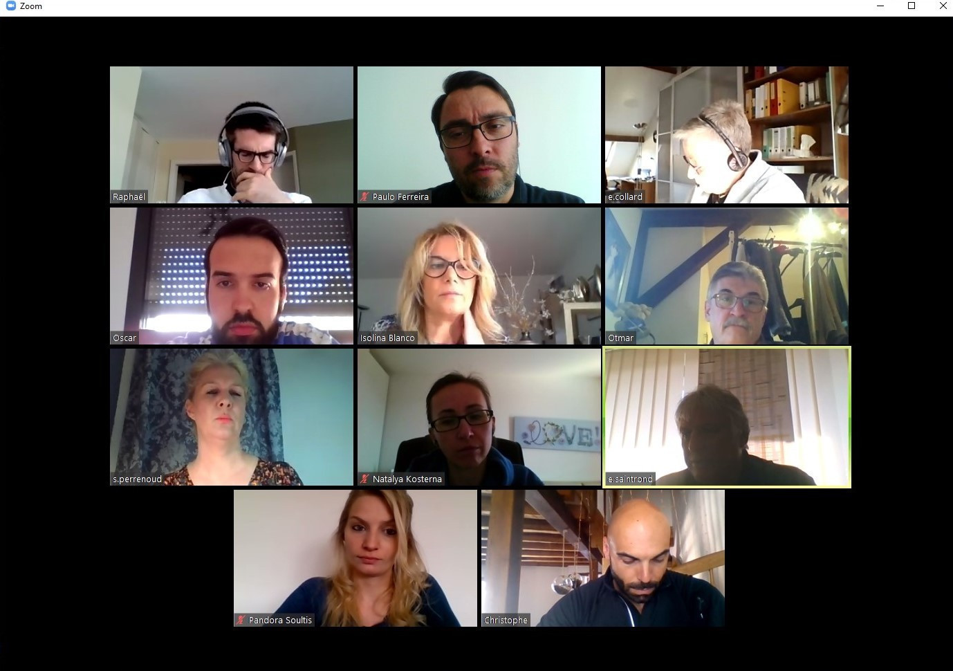 Organisations have been using video conferencing technology to hold meetings remotely ©FISU