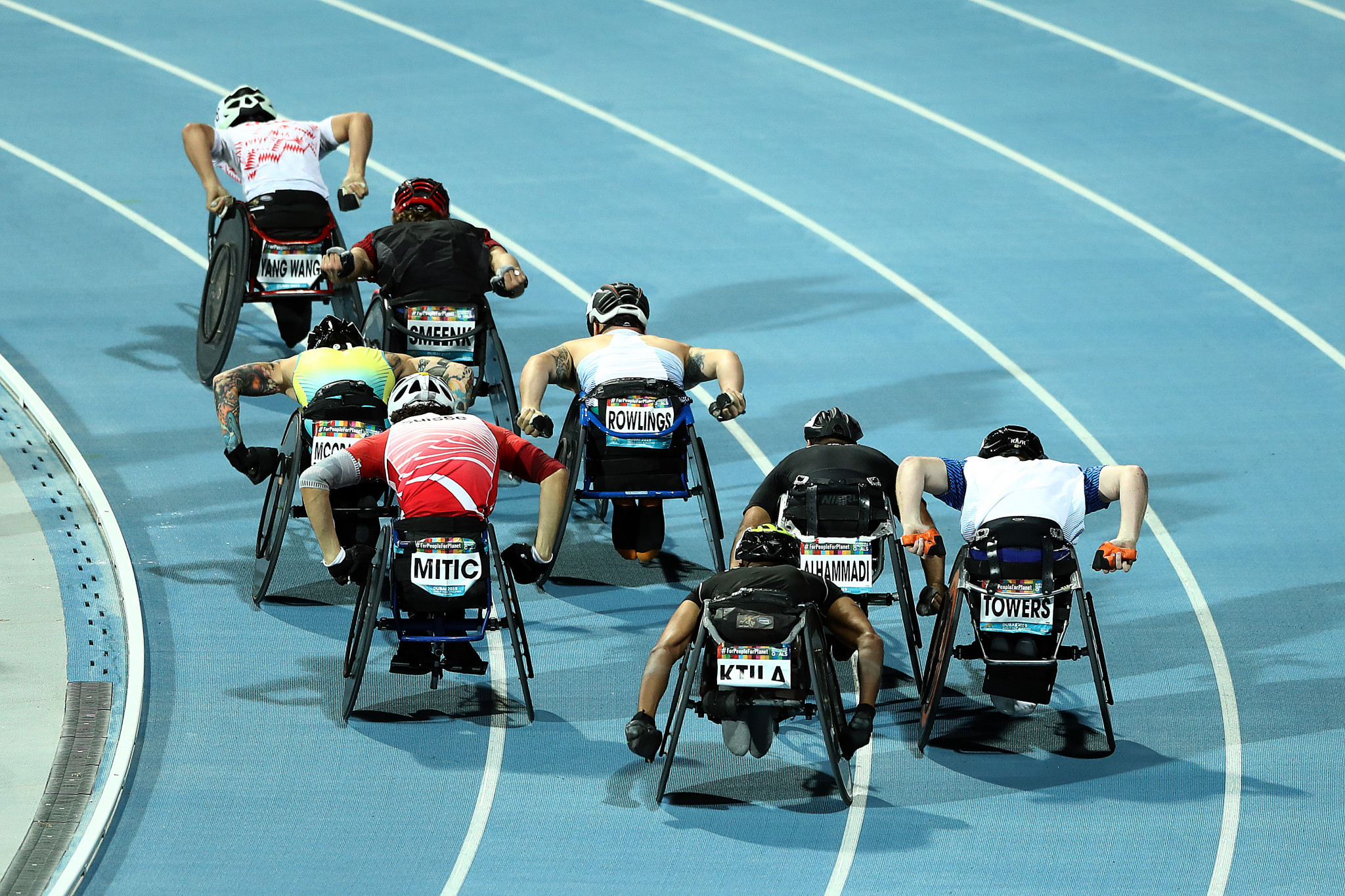 Last year's World Para Athletics Championships were held in Dubai ©Getty Images