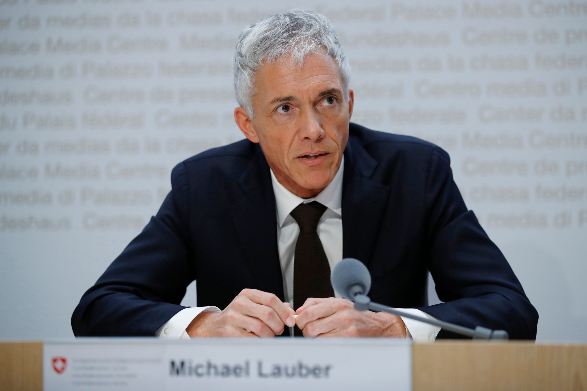 Swiss Attorney General Michael Lauber is under fire after the case ended before a verdict could be reached ©Getty Images