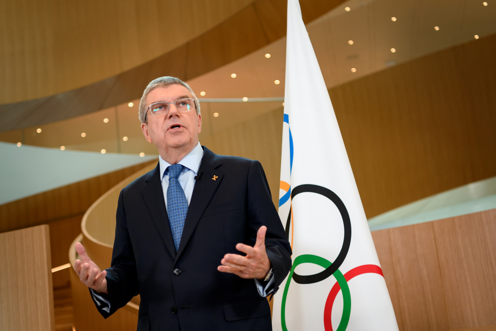 """Bach calls for Olympic Movement to look into """"proliferation of sports events"""" post-pandemic"""