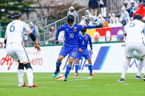 IBFF is a Japanese non-profit organisation that aims to harness the power and popularity of blind football ©IBSA