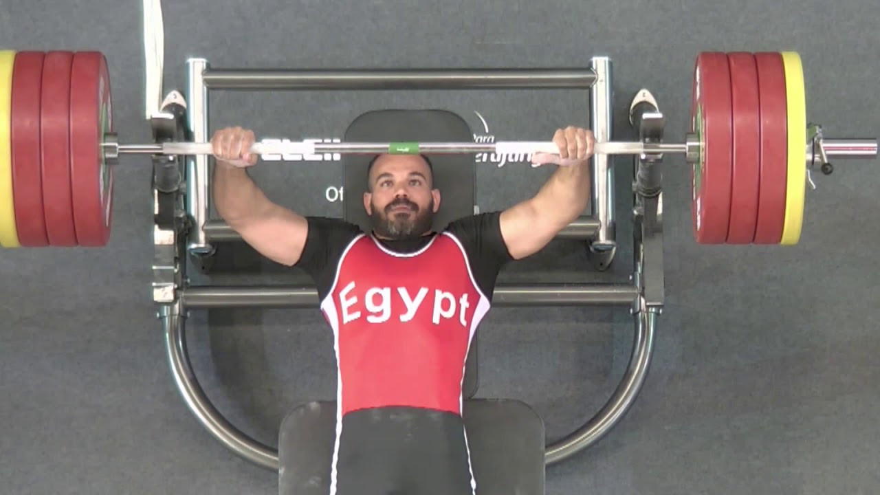 Egypt's Sherif Osman will be one of four team captains ©World Para Powerlifting