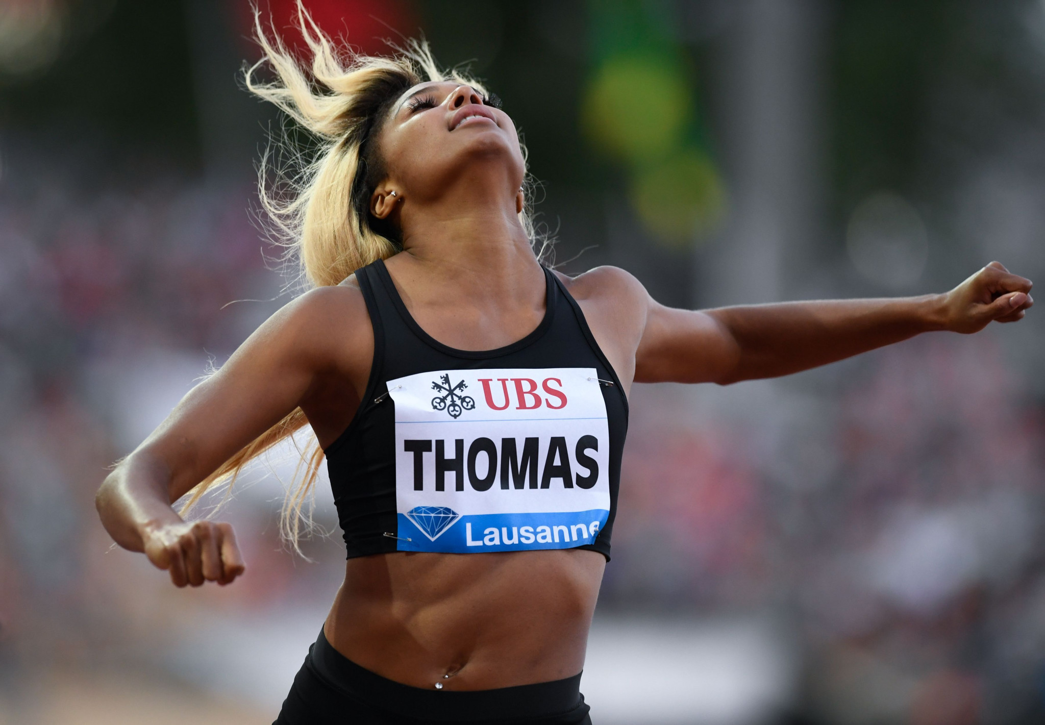 Gabrielle Thomas has been provisionally suspended by the by the Athletics Integrity Unit ©Getty Images