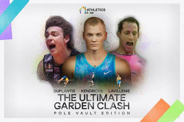 Duplantis, Lavillenie and Kendricks to clash in garden pole vault competition