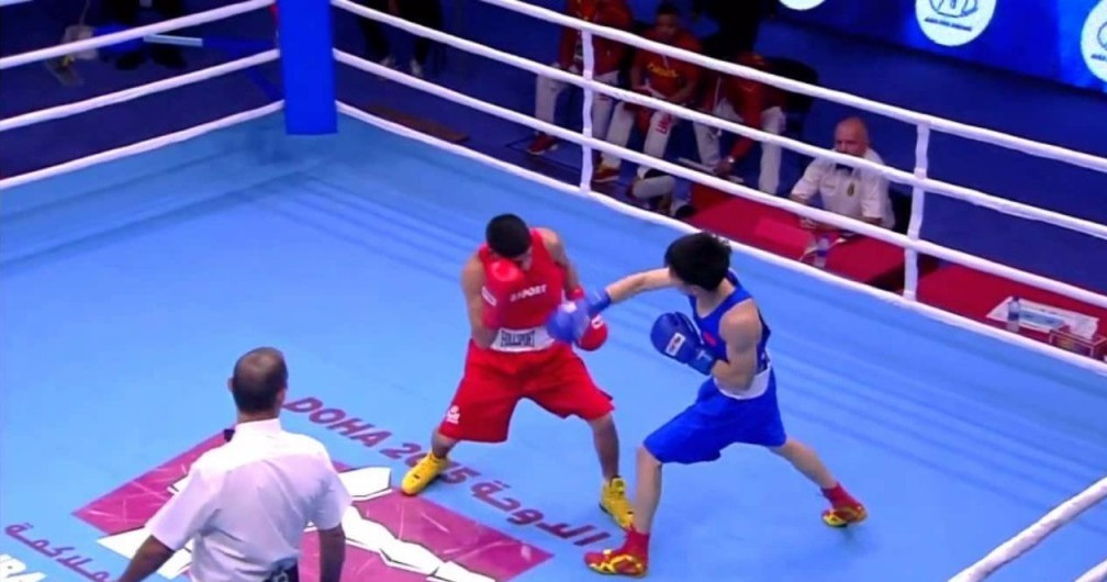 The 2015 AIBA World Championships took place in Doha ©YouTube