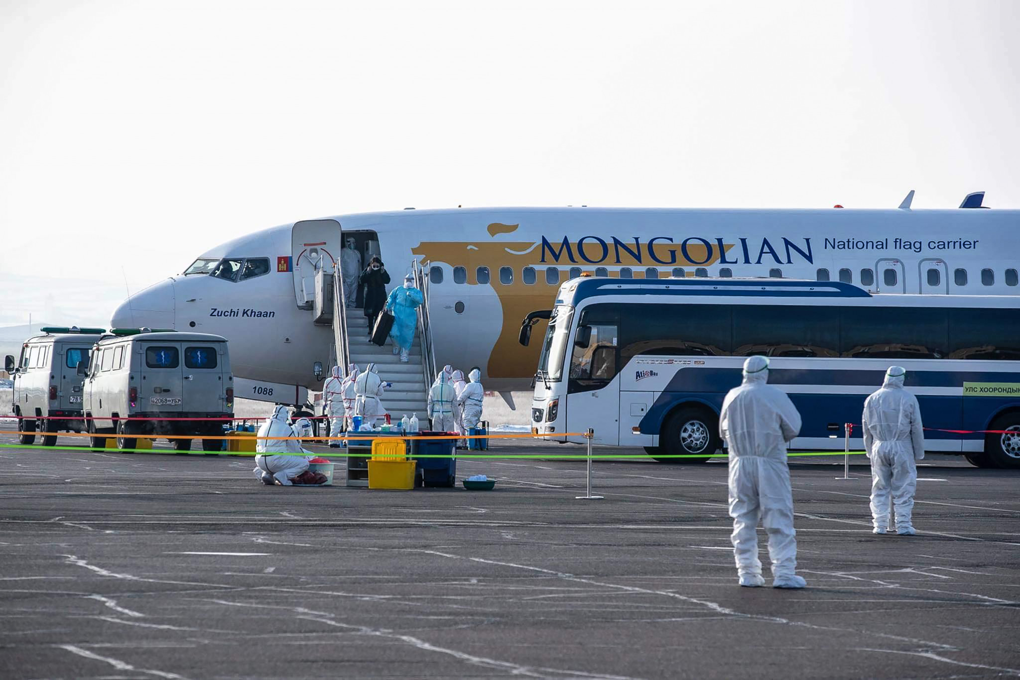 Mongolia has halted entry to the country during the pandemic ©Getty Images