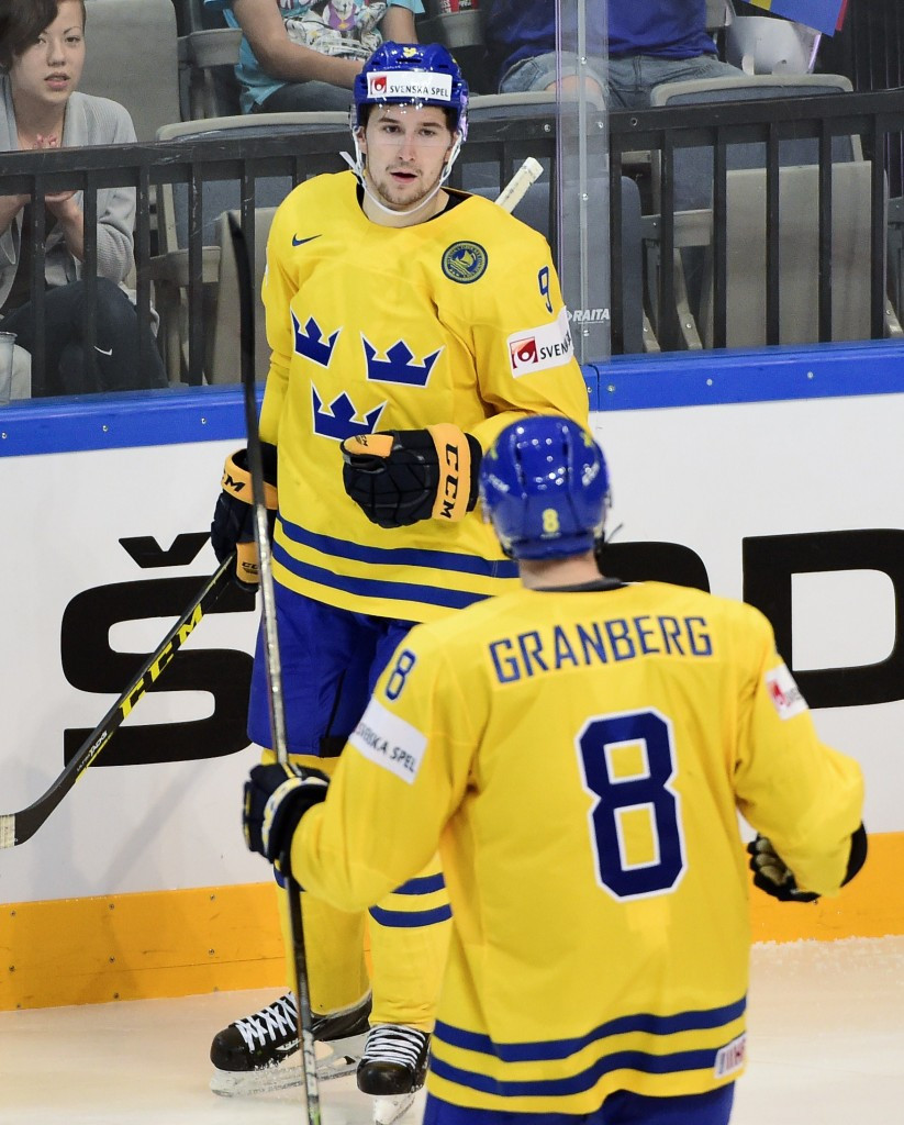 Forsberg inspires Sweden to important win at Ice Hockey World Championship