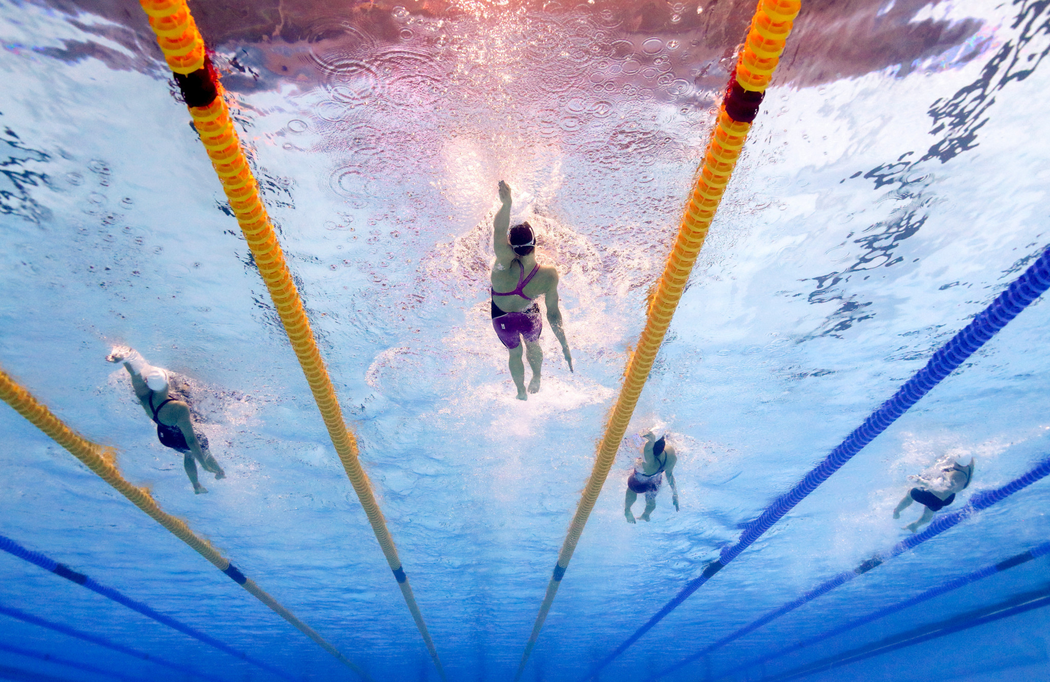 FINA consulted with athletes before opting to switch its flagship event to 2022 ©Getty Images