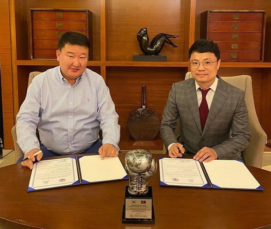 Mongolia and South Korea sign partnership to develop boxing