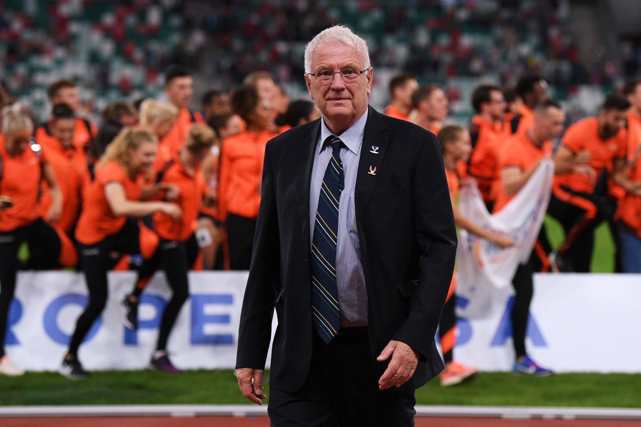 European Athletics President Hansen stable but facing long recovery