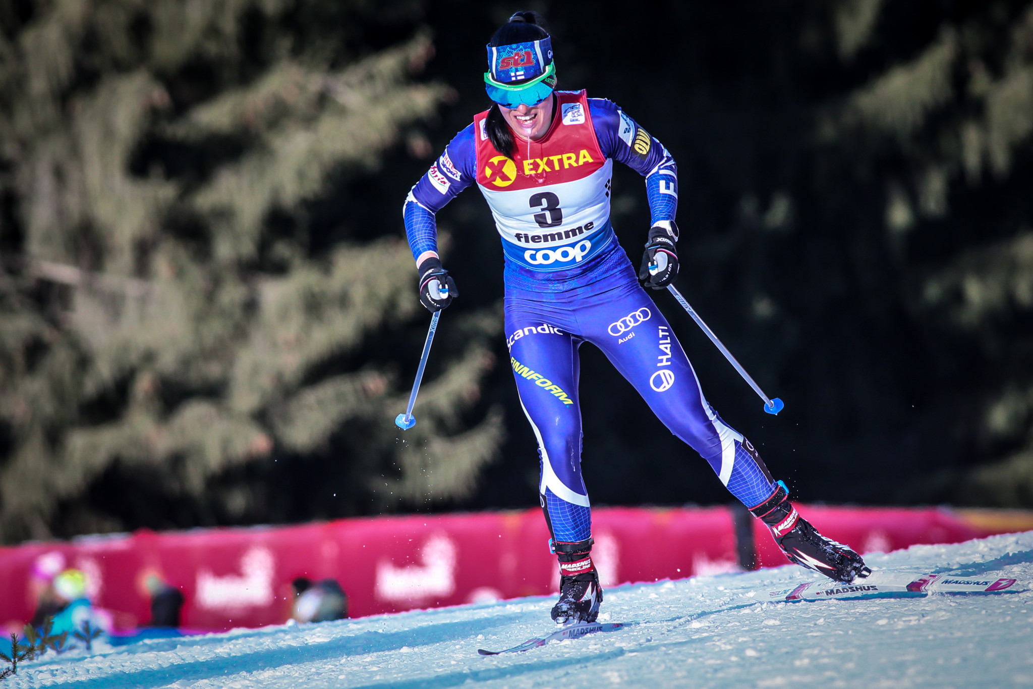 Krista Pärmäkoski has won six World Championship medals ©Getty Images