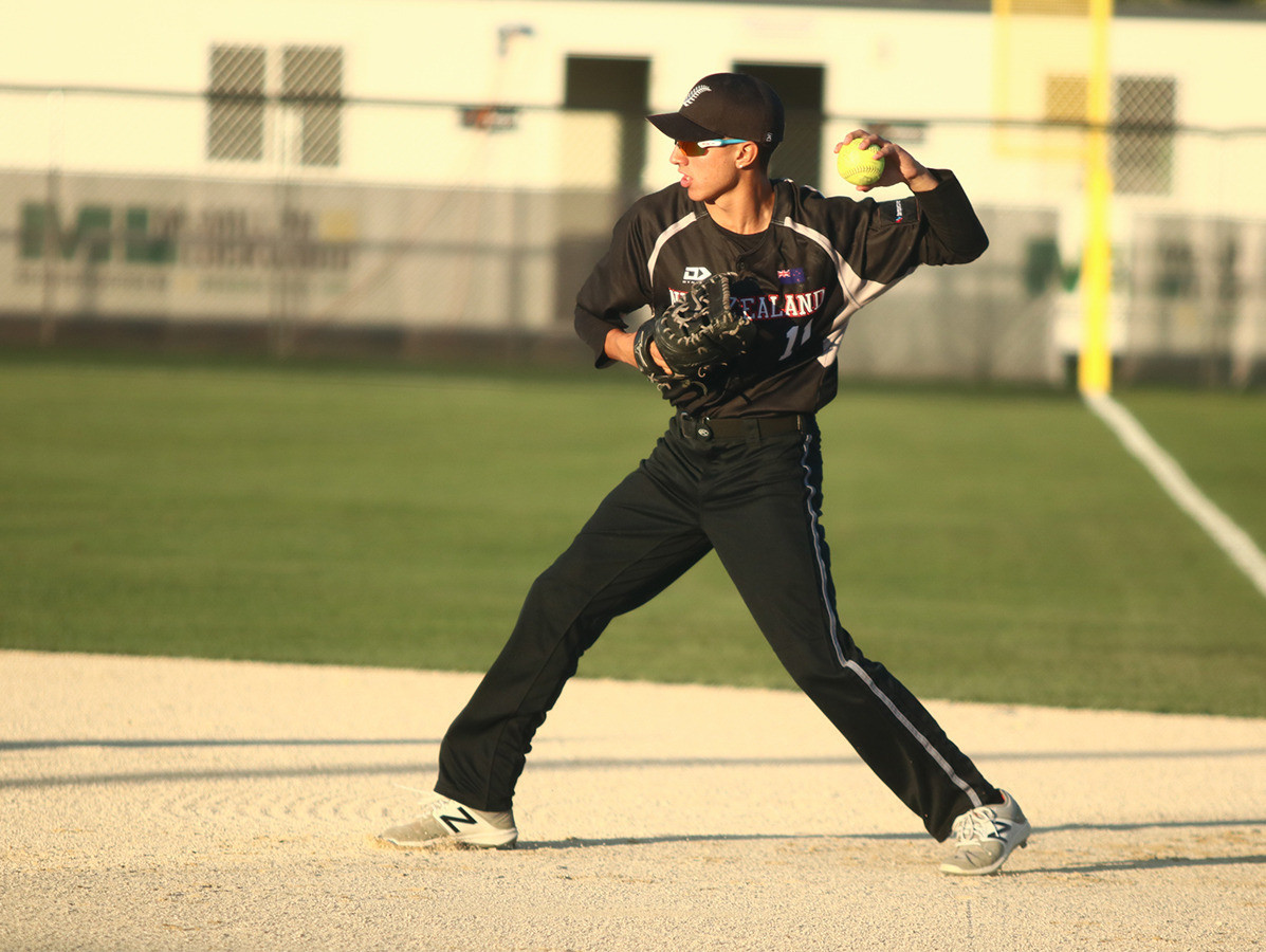 Jarrad Martin will guide New Zealand's youngsters at the 2022 World Cup ©WBSC