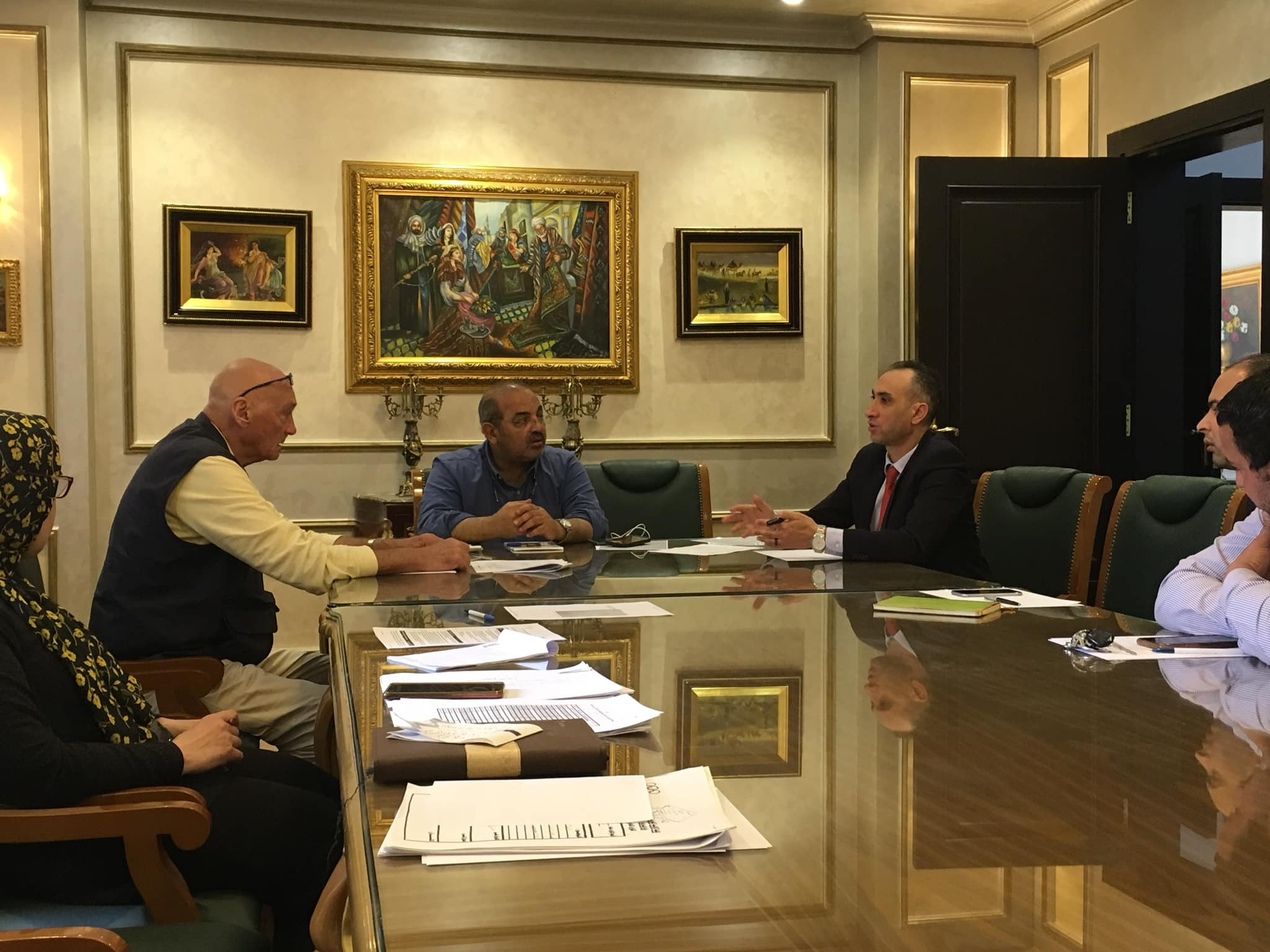 The Egyptian Olympic Committee discussed the plan with various sporting governing bodies ©EOC