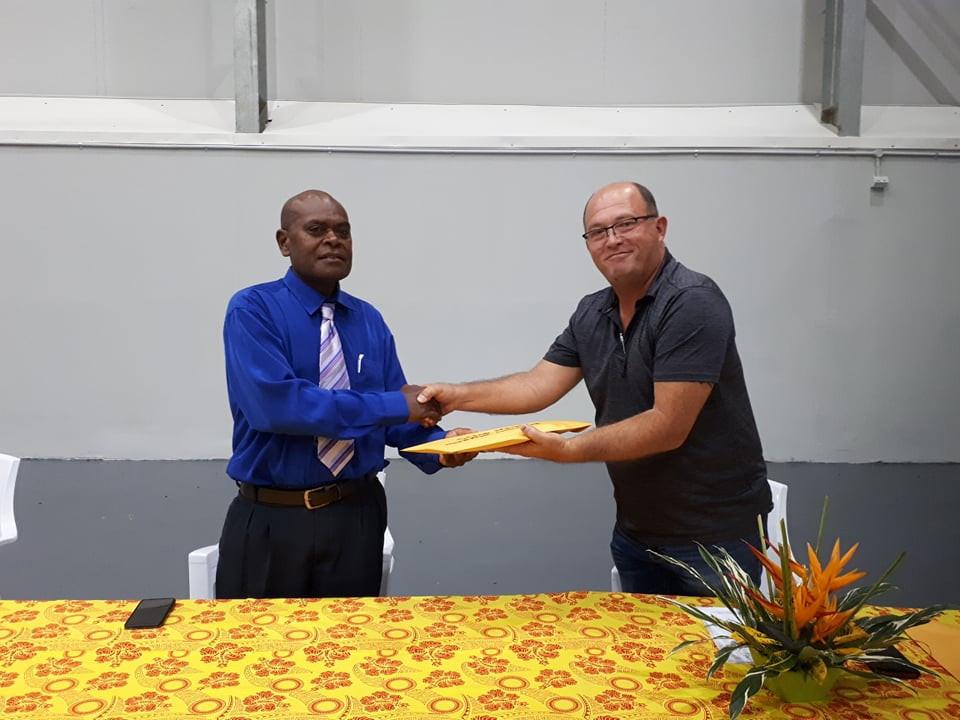 VASANOC delegation pay visit to Vanuatu's new Sports Minister