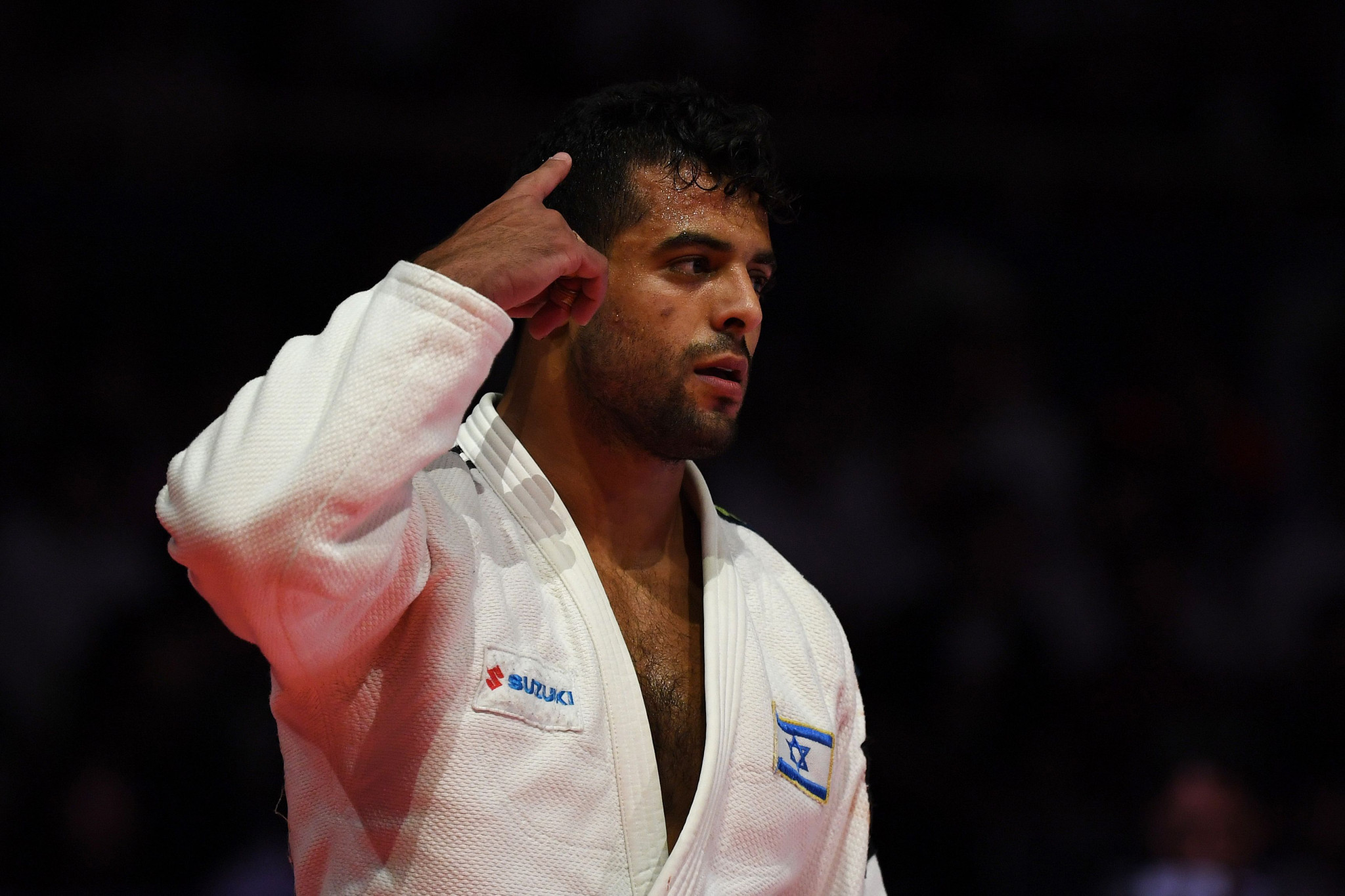 World judo champion Muki auctions off personal items to fund COVID-19 respirators