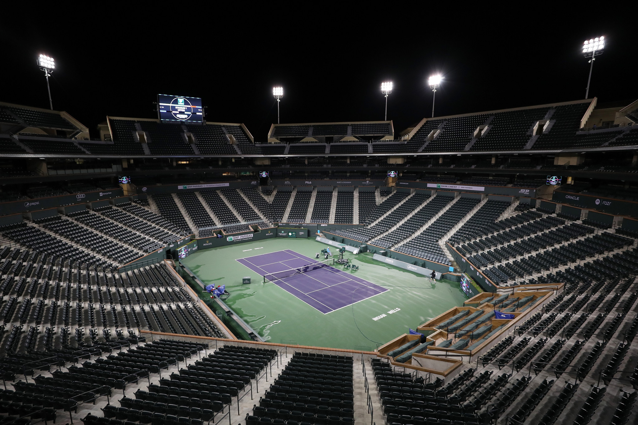 Indian Wells has emerged as a possible venue for the 2020 US Open ©Getty Images