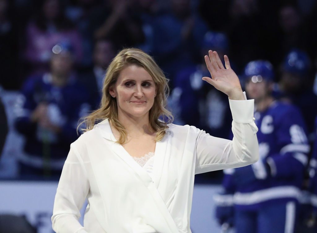 Hayley Wickenheiser made global headlines when she criticised the IOC in March ©Getty Images