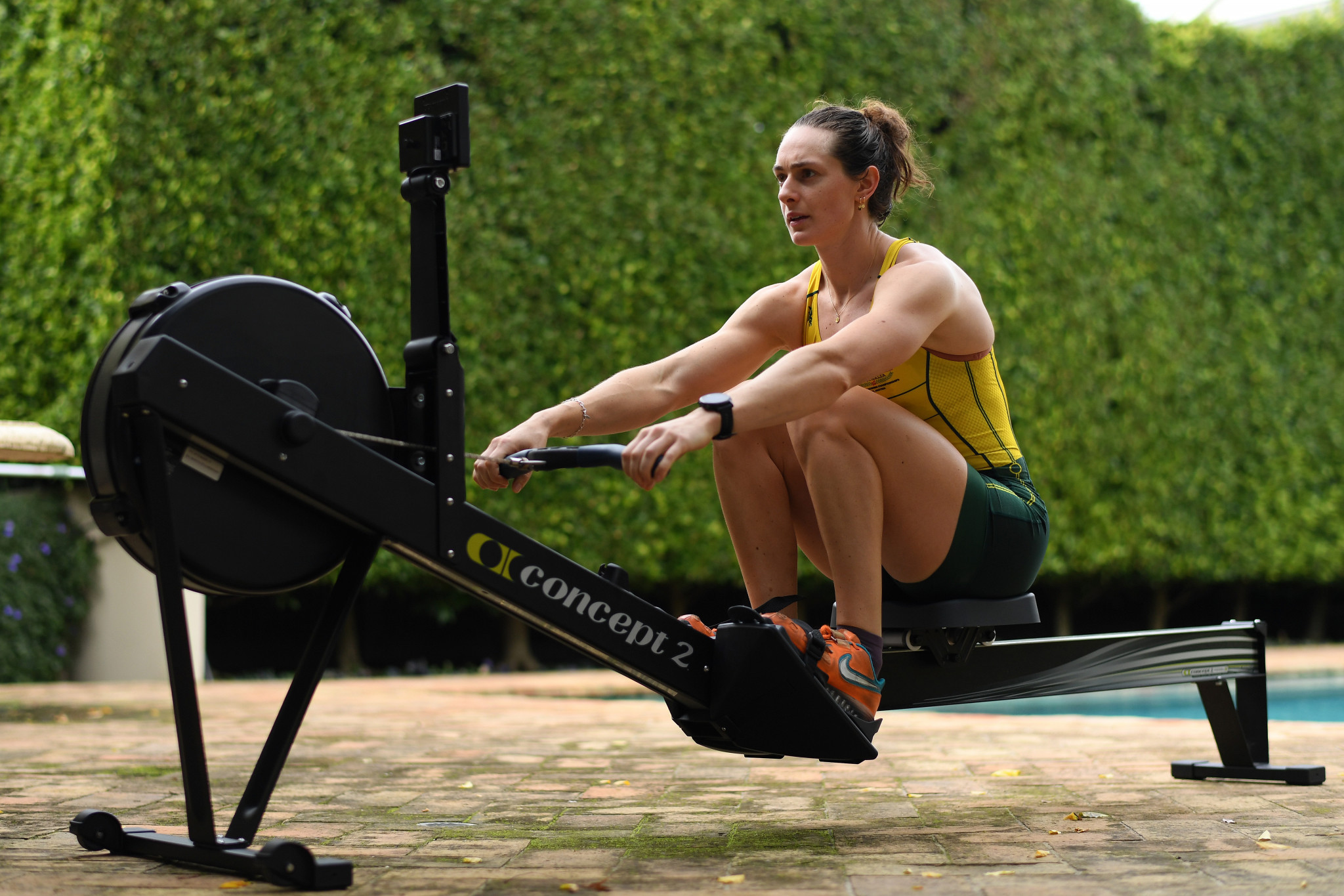 Anyone who can access a Concept2 static rowing machine will be able to enter the 2021 World Rowing Indoor Championships ©Getty Images