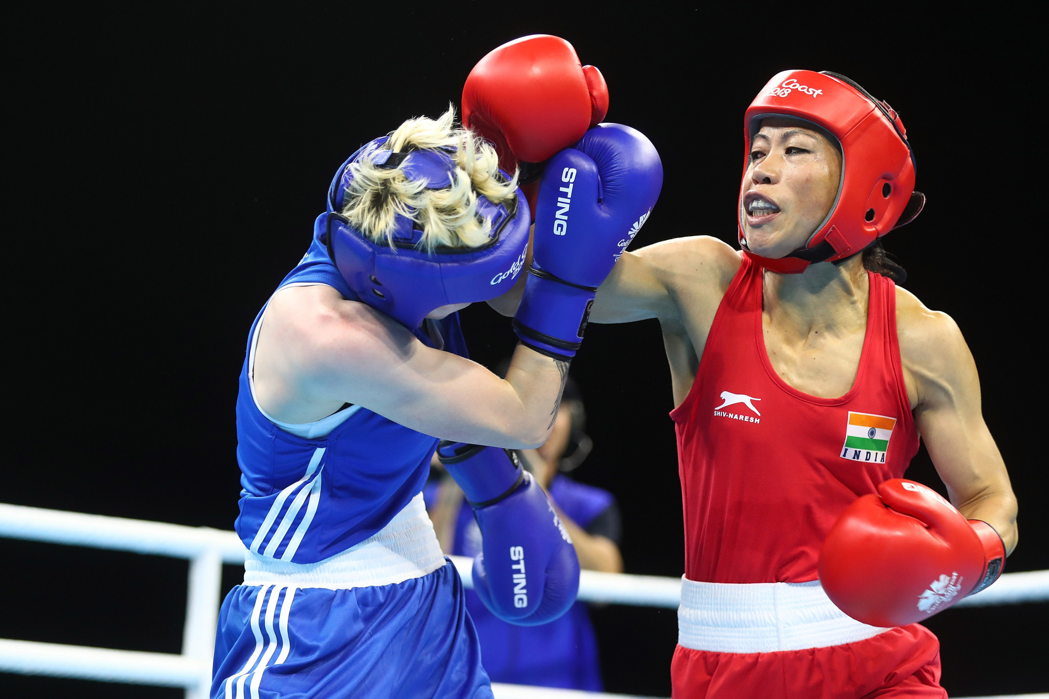 Six-time world champion Mary Kom is one of the Indian boxers who booked a Tokyo 2020 place in Amman ©Getty Images