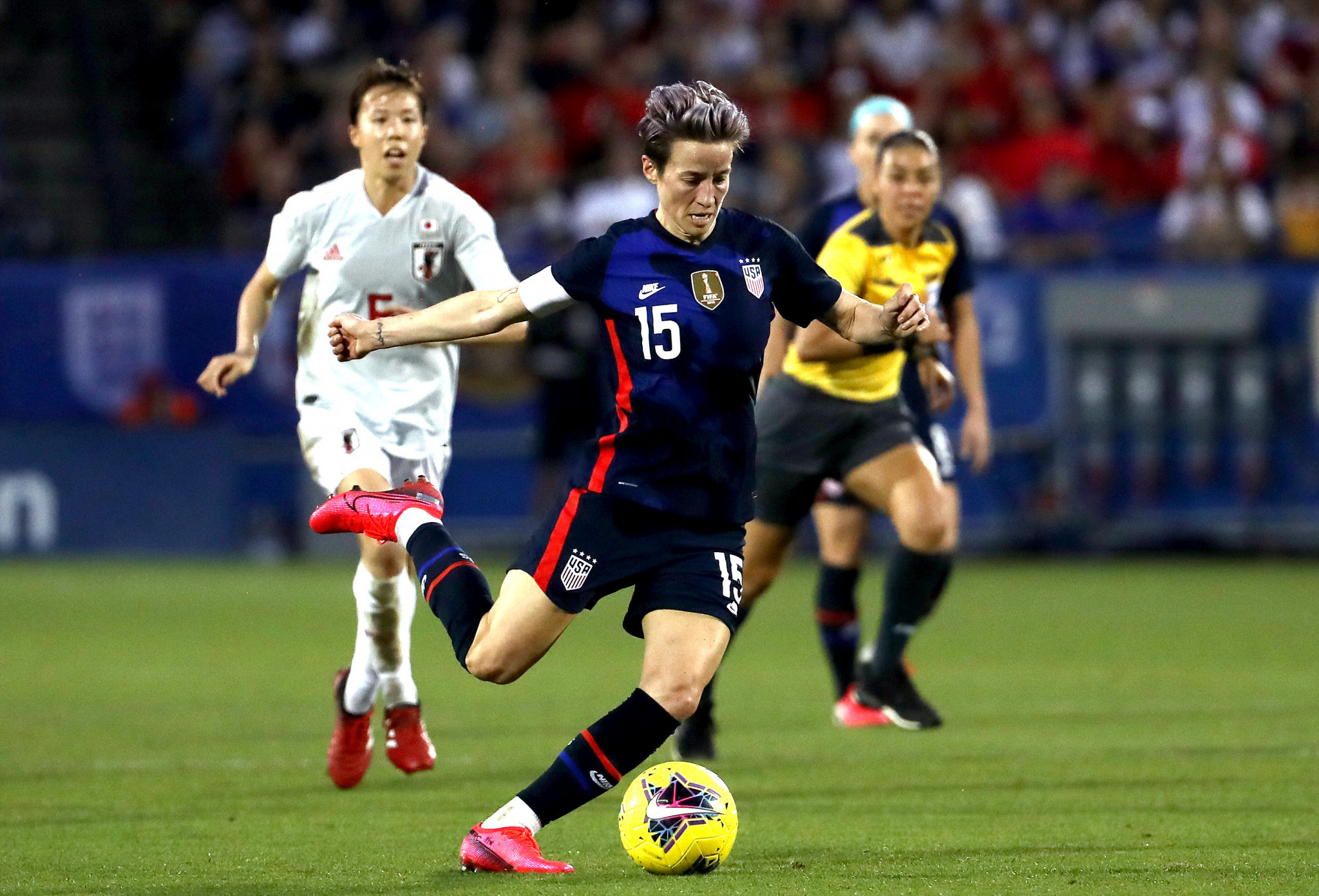 Megan Rapinoe expects Tokyo 2020 to be her last Olympics should the Games go ahead in 2021 ©Getty Images