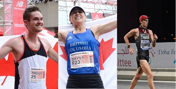 Athletics Canada name Hofbauer, Pidhoresky and Dunfee to Tokyo 2020 team