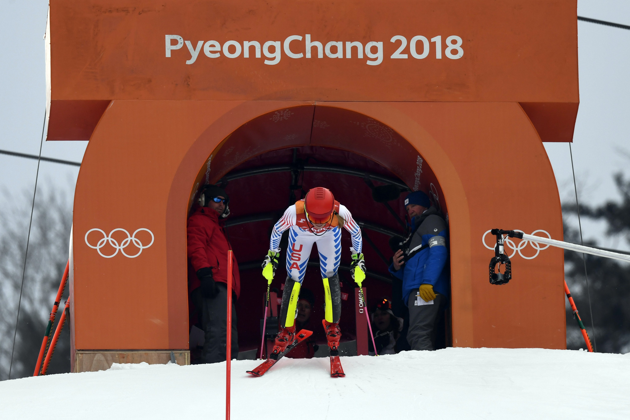 Eo Jae-suk acted as an Alpine skiing commentator at the Pyeongchang 2018 Winter Olympic Games ©Getty Images