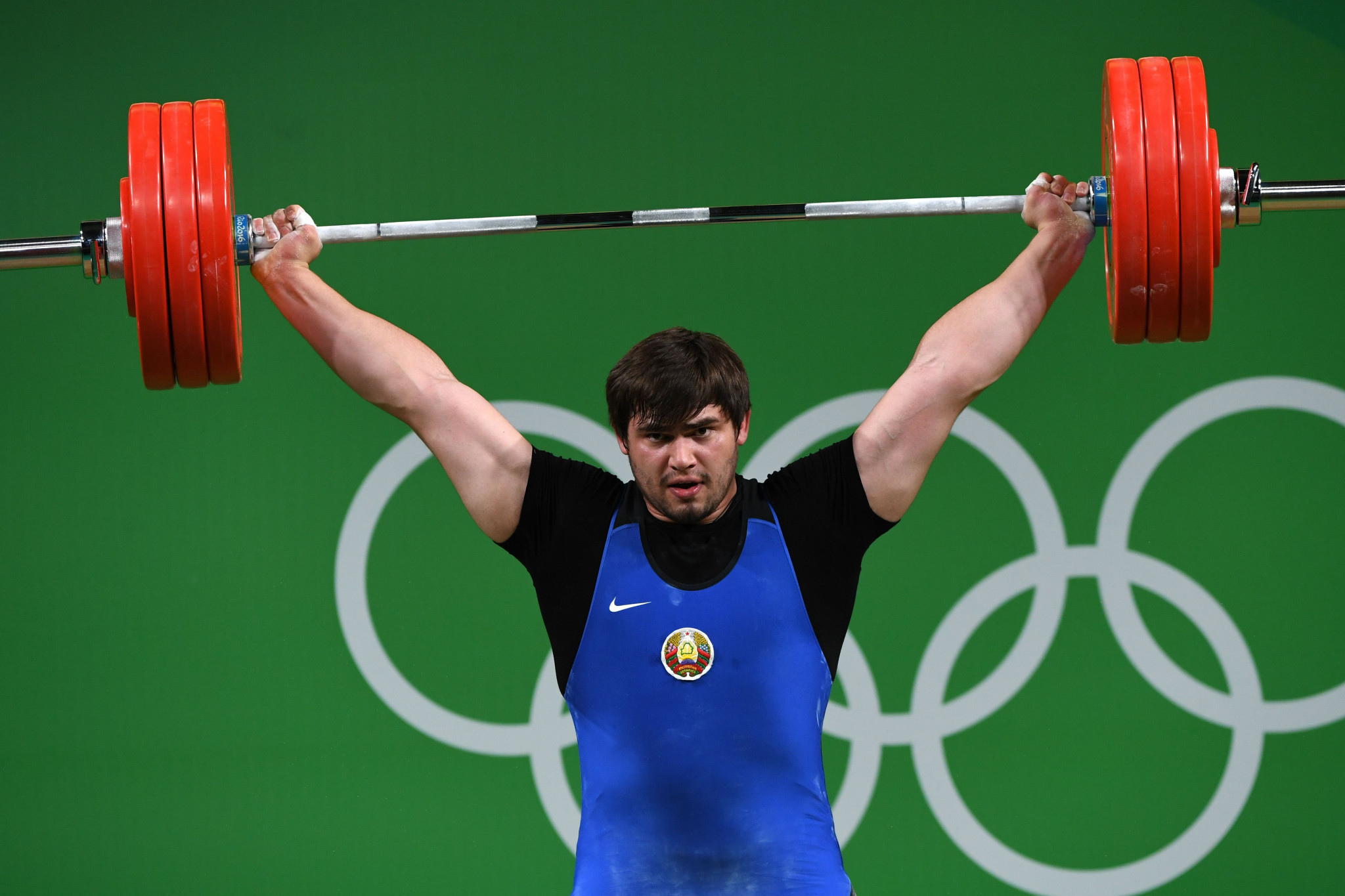 Belarusian weightlifter Aliksei Mzhachyk will look to qualify for his second Olympics ©Getty Images