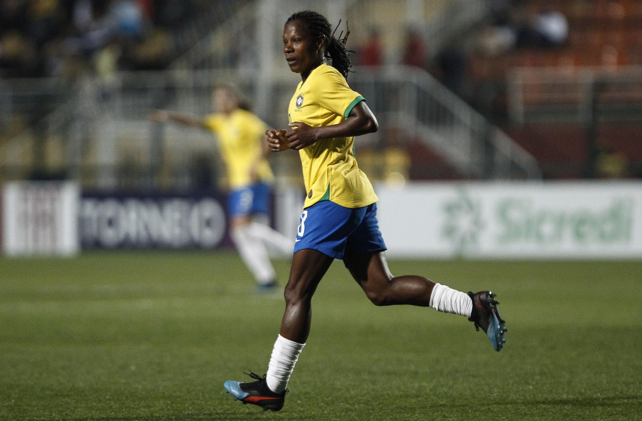 Brazil veteran Formiga still aims to end international career at seventh Olympic Games