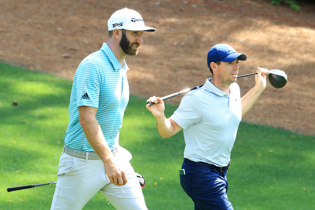 McIlroy and Johnson to team up in COVID-19 charity golf contest