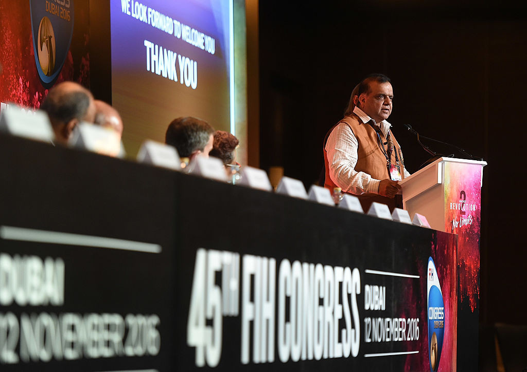 FIH confirm Batra's term as President extended until May 2021 after Congress postponed