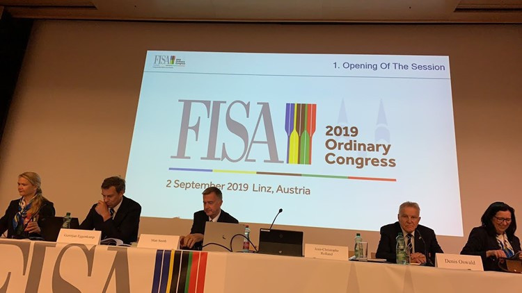 World Rowing Federation to hold Ordinary and Extraordinary Congress virtually