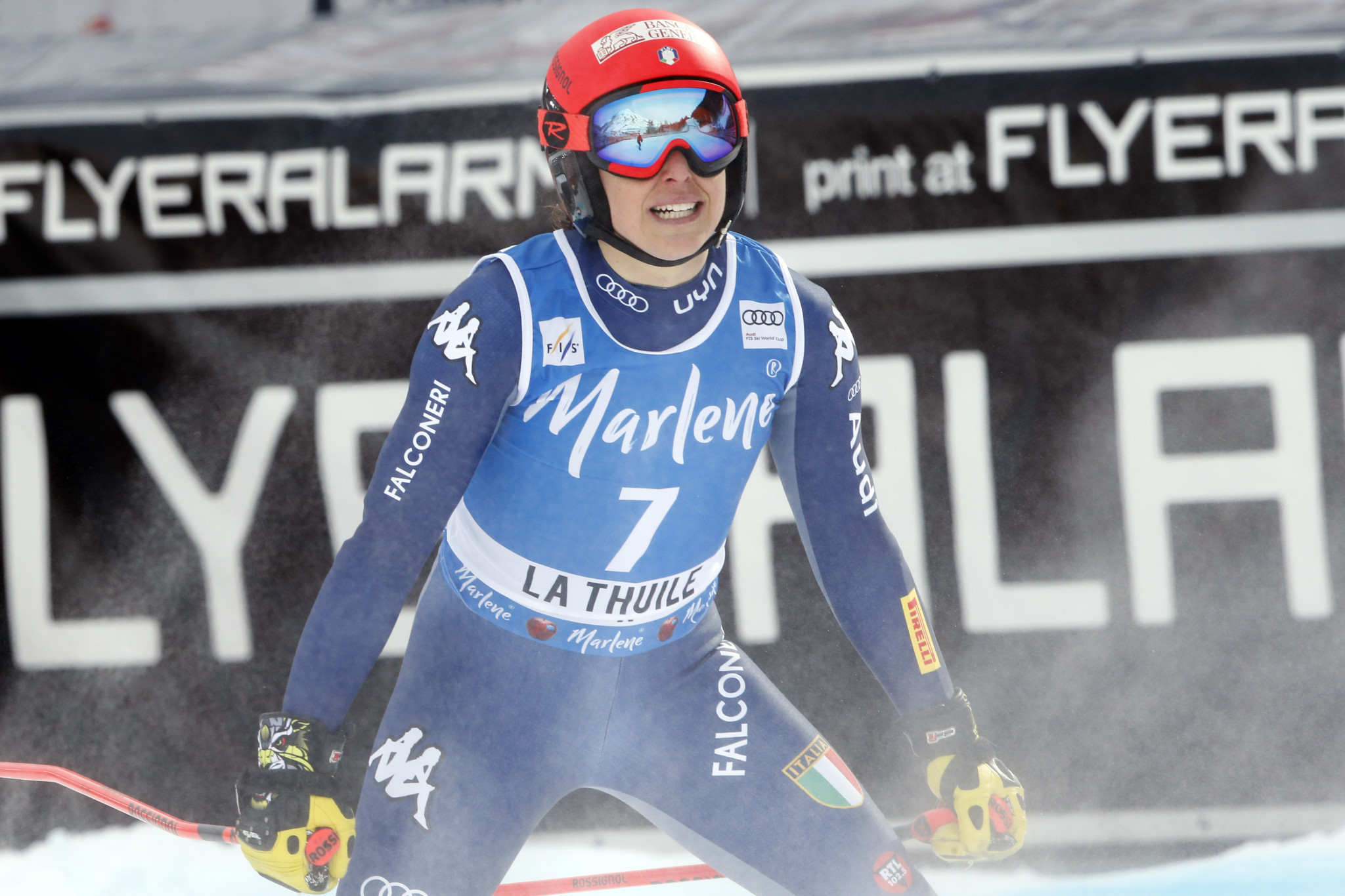 Federica Brignone has been named in the Italian ski team for the 2020-2021 season ©Getty Images