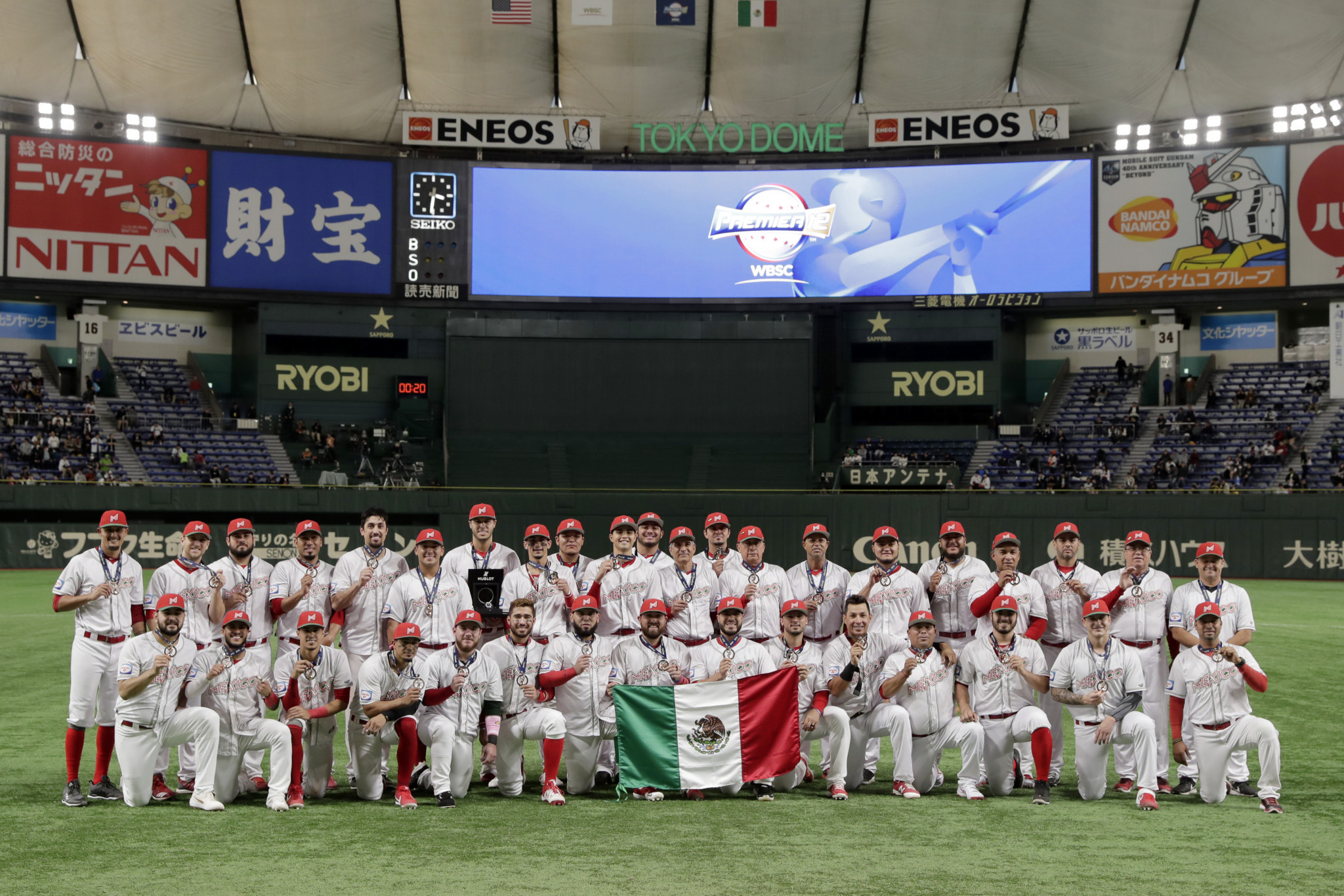Mexico have qualified for Tokyo 2020 and would be among the countries likely to benefit if a fresh agreement is reached for MLB 40-man roster players to take part ©Getty Images