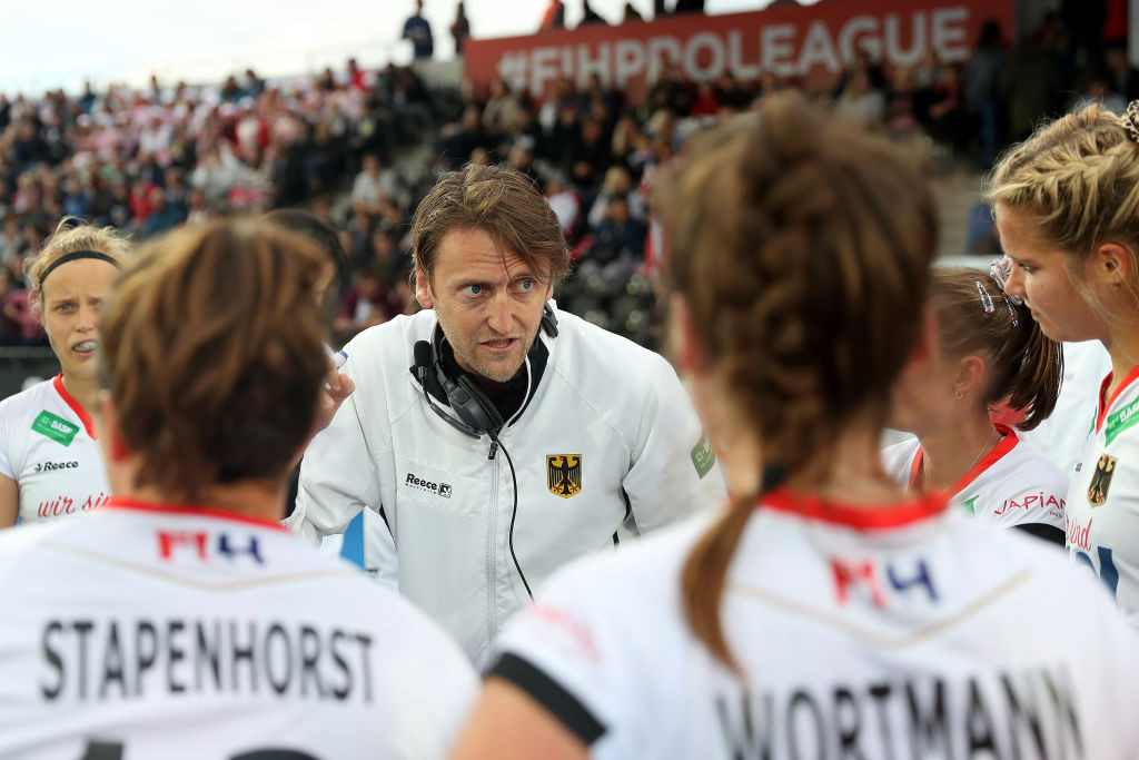 Reckinger extends contract as coach of German women's hockey team through to Paris 2024