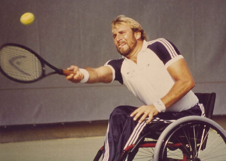 "Former wheelchair tennis star Parks admits sport has ""achieved more"" than he imagined"