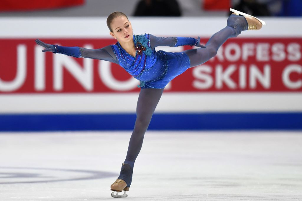 Alexandra Trusova has changed coaches ahead of the new figure skating season ©Getty Images