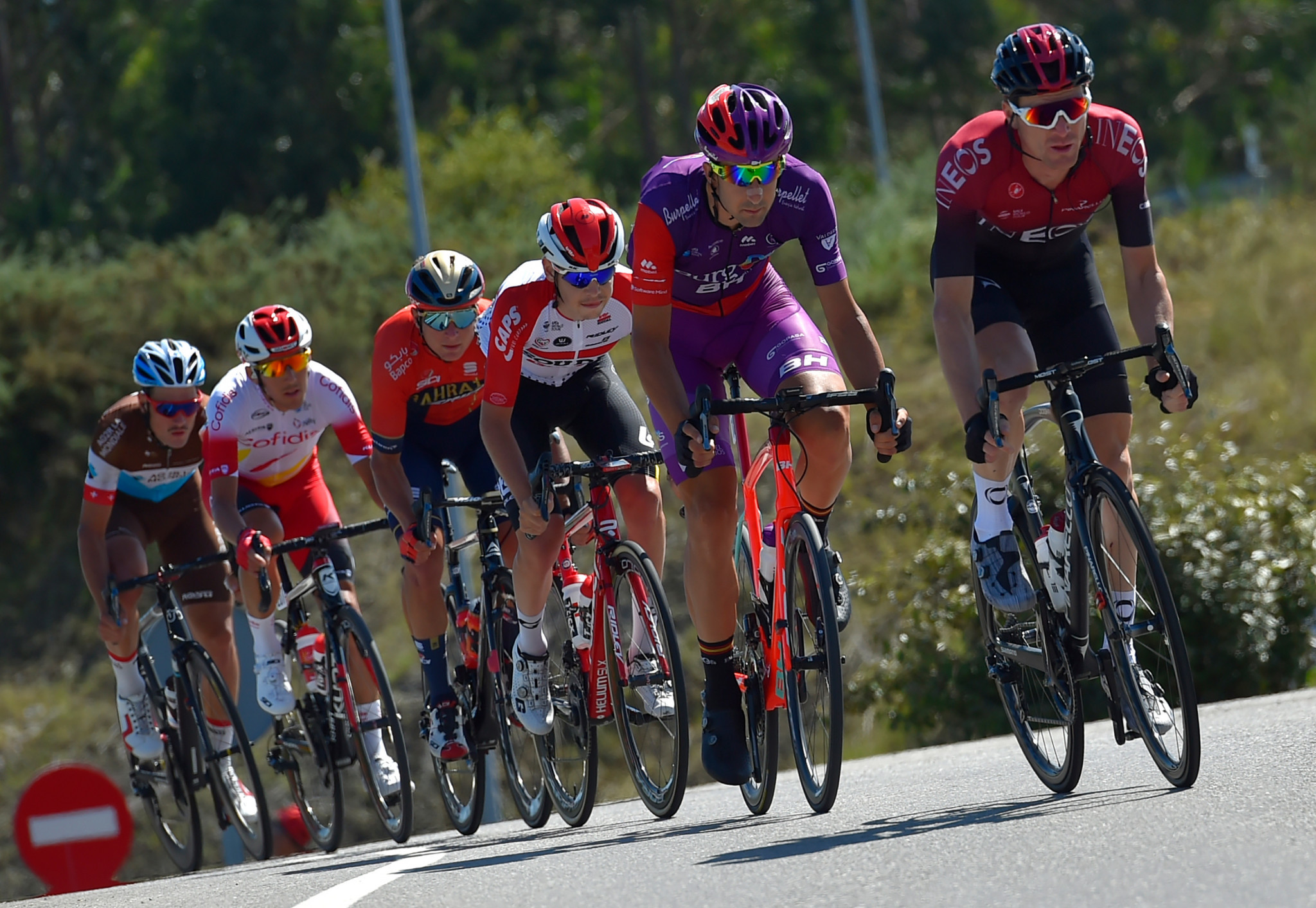 This year's Vuelta a España will not enter Portugal ©Getty Images