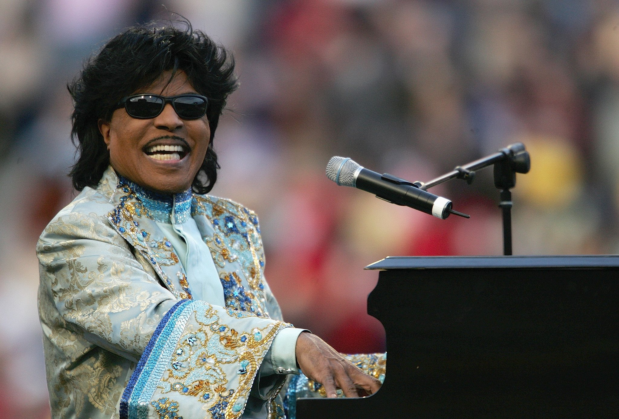 Tributes paid to musician Little Richard who performed at Closing Ceremony of Atlanta 1996 Olympics
