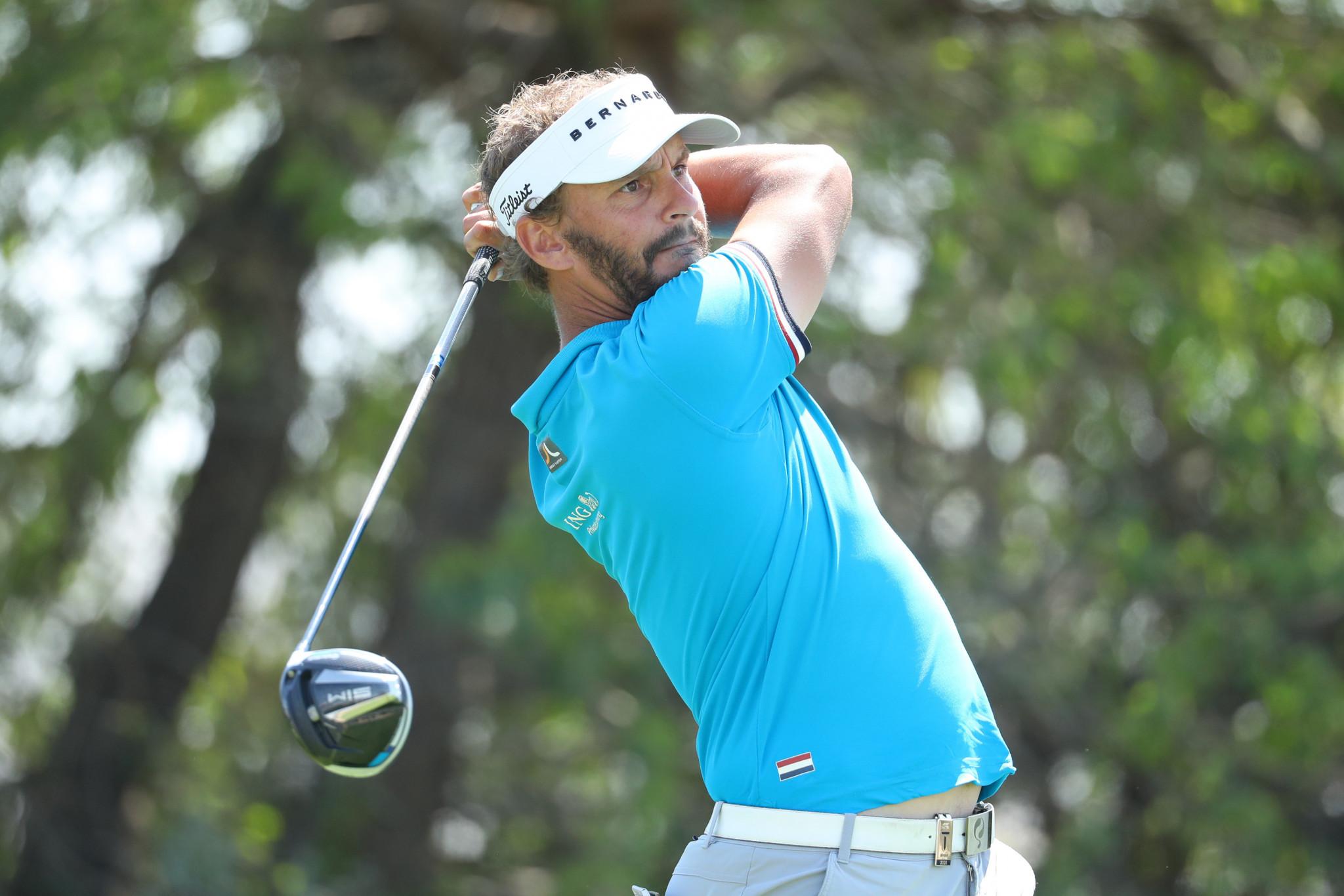 Dutchman Luiten wins first leg of European Tour's indoor golf series