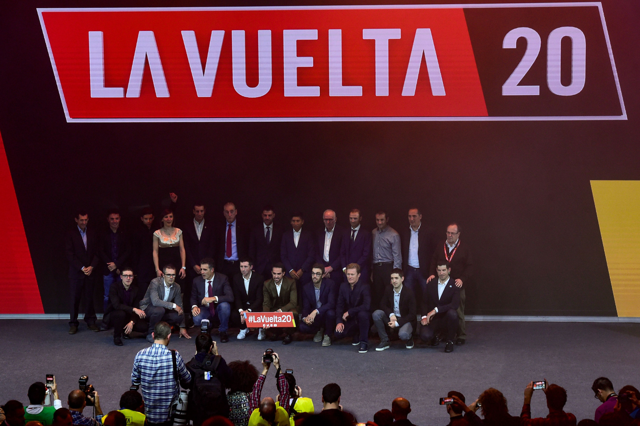 Organisers have confirmed the 22 teams for this year's Vuelta a España ©Getty Images