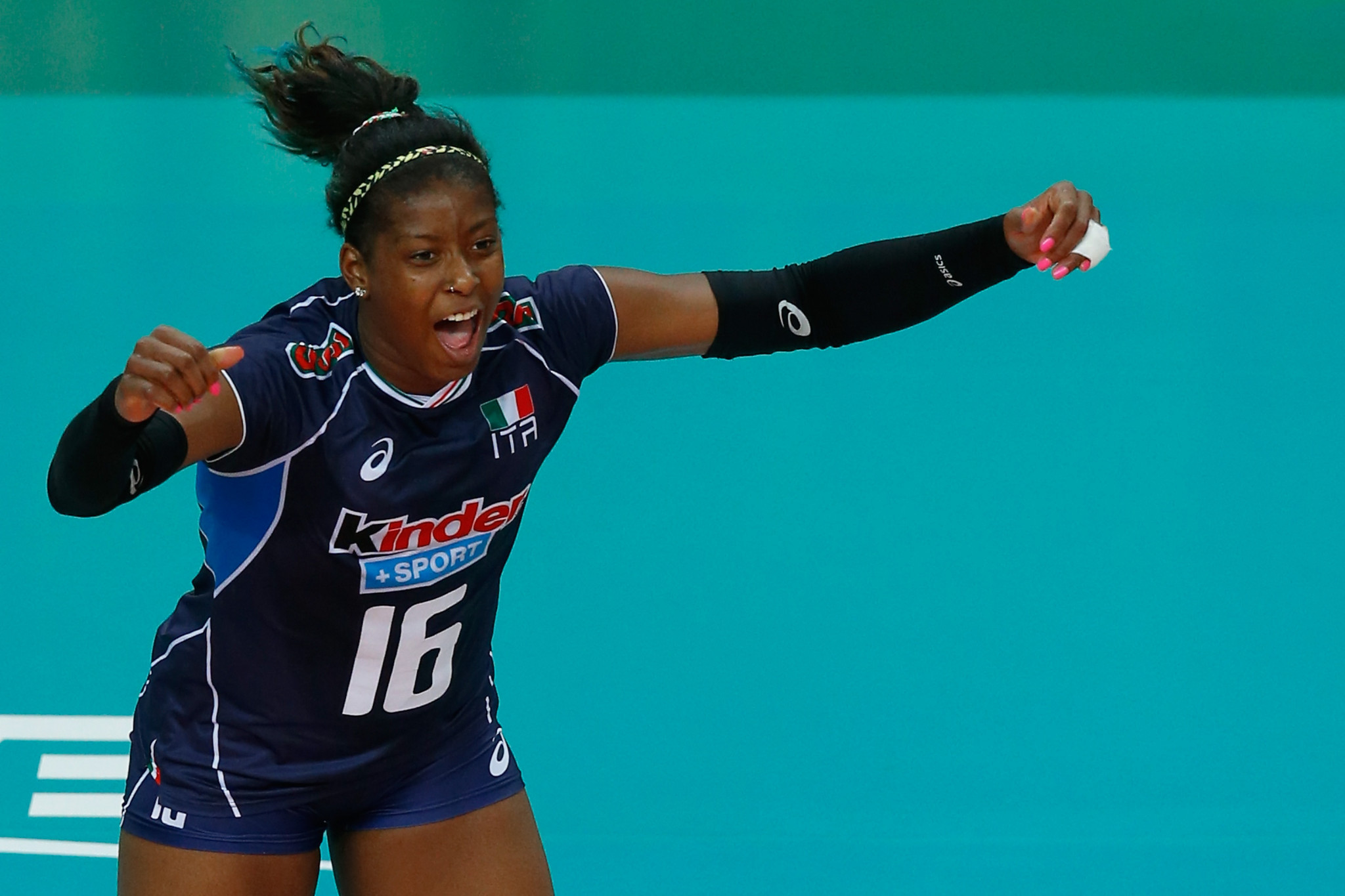 Volleyball star Sylla believes Tokyo 2020 postponement will enhance Italian team