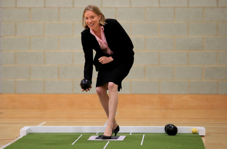 British Sports Minister Tracey Crouch says the Government wants to give everyone